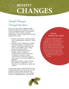 2014 Benefits Annual Enrollment Booklet 3