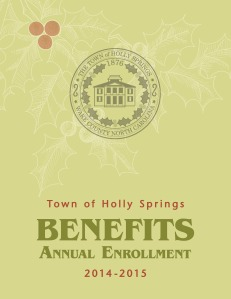 2014 Benefits Annual Enrollment Booklet cover page