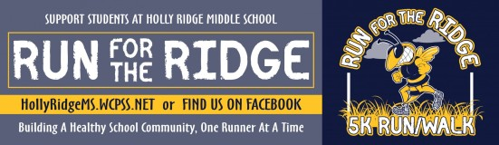 Run for the Ridge event banner