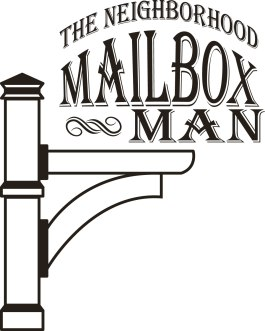 The Neighborhood Mailbox Man logo final