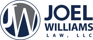 Joel Williams Law logo-2-color
