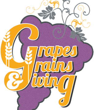 Grapes Grains Giving logo