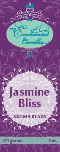 MEC Aroma Beads promo label-Jasmine Bliss