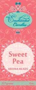 MEC Aroma Beads promo label-Sweet Pea