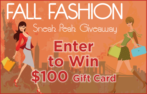 NYC Fall Fashion Sneak Peak Giveaway