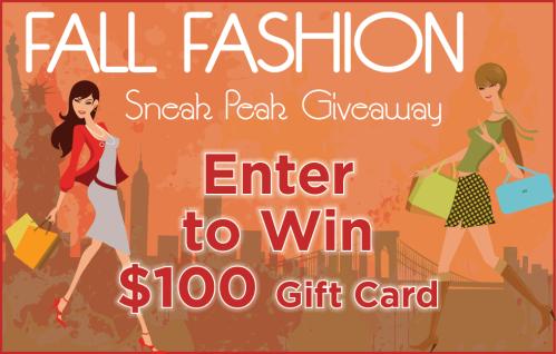 NYC Fall Fashion Sneak Peak Giveaway