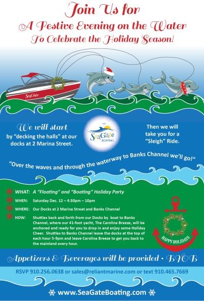 2015 Holiday Celebration invitation