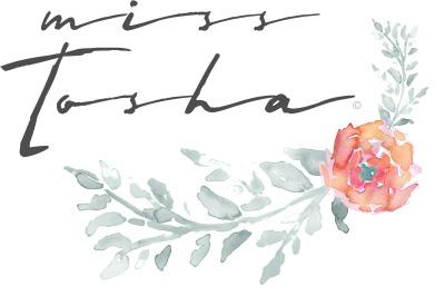 Miss Tosha floral logo